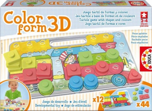 Puzzle 3D tvary
