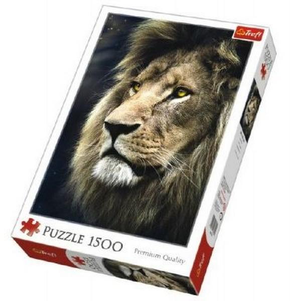 Puzzle lev 1500 dílků