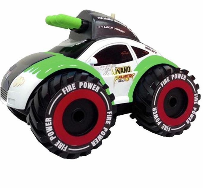 Rc auto nano blaster zelený