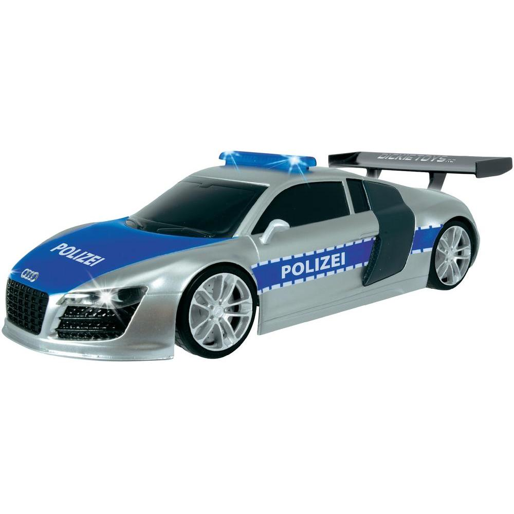 rc model dickie toys highway patrol audi r8 1 16 rtr. Black Bedroom Furniture Sets. Home Design Ideas