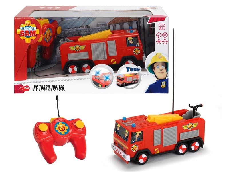 Rc požárník sam hasičské auto jupiter 1:24, 2 kan
