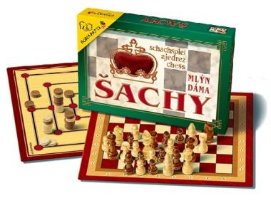 Šachy,dáma,mlýn