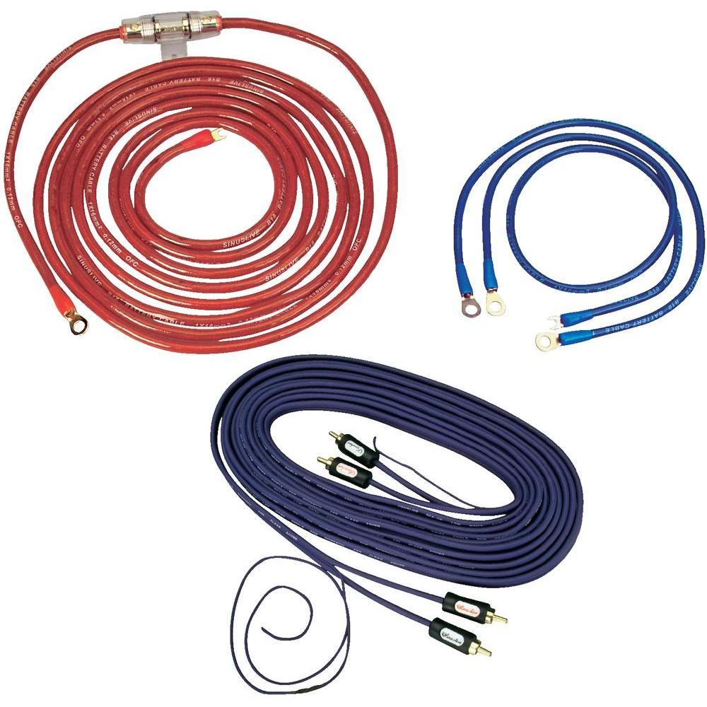 Sada kabelů sinus live ks 10 mm2