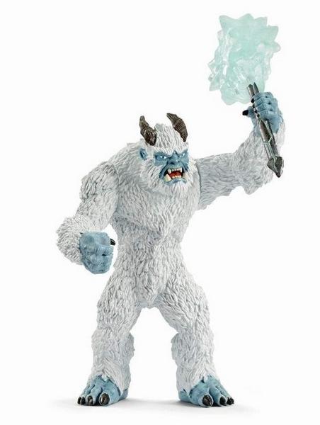 Schleich ledové monstrum se zbraní