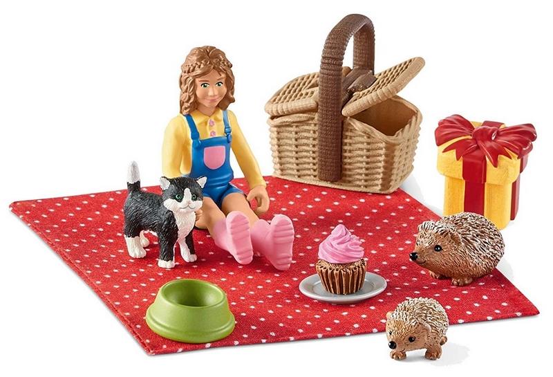 Schleich narozeninový piknik