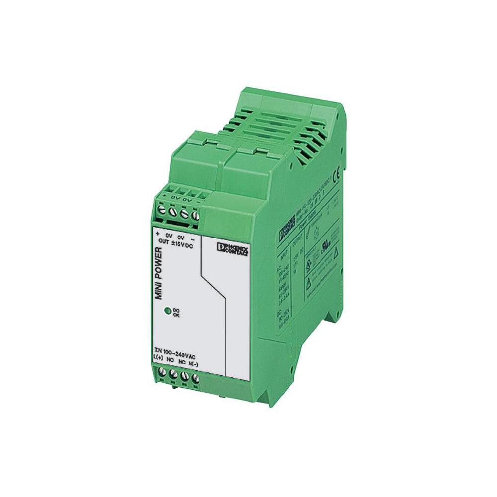 Spínaný síťový zdroj phoenix contact mini-ps-100-240ac/2x15dc/1a…