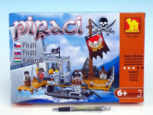 Stavebnice dromader piráti 238 dílků