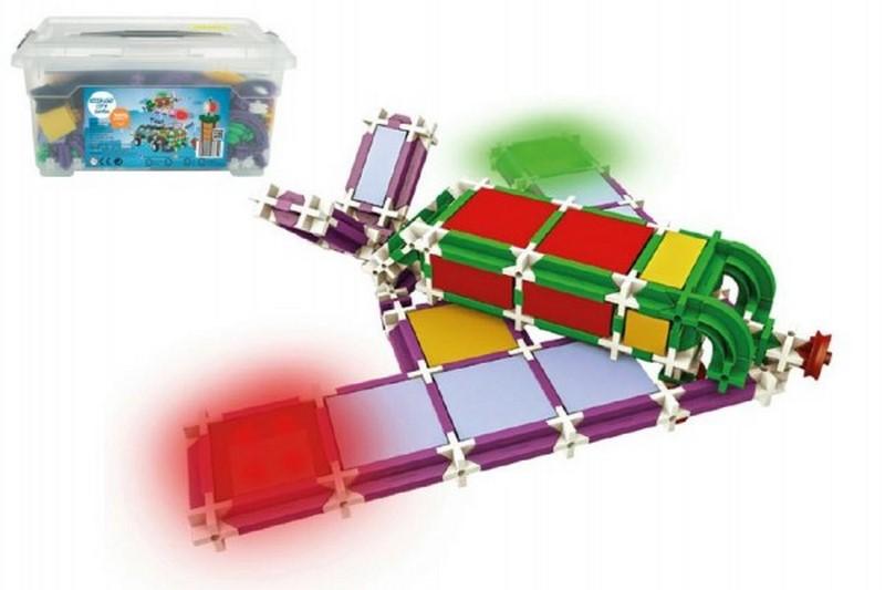 Stavebnice seva city jumbo 686 dílů v plastovém boxu