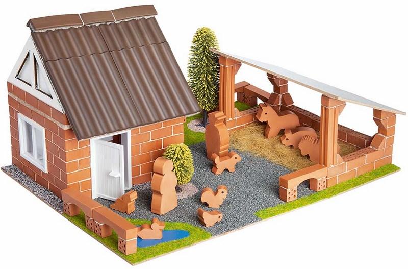 Stavebnice teifoc farma - 180 dílků