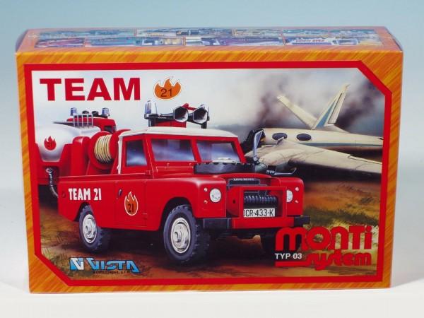 Stavebnice vista ms 03 team 21 land rover 1:35