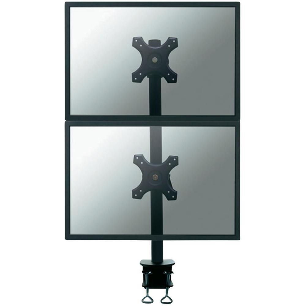 Stolní držák na 2 monitory, 25,4 - 61 cm (10 - 24) newstar fpma…
