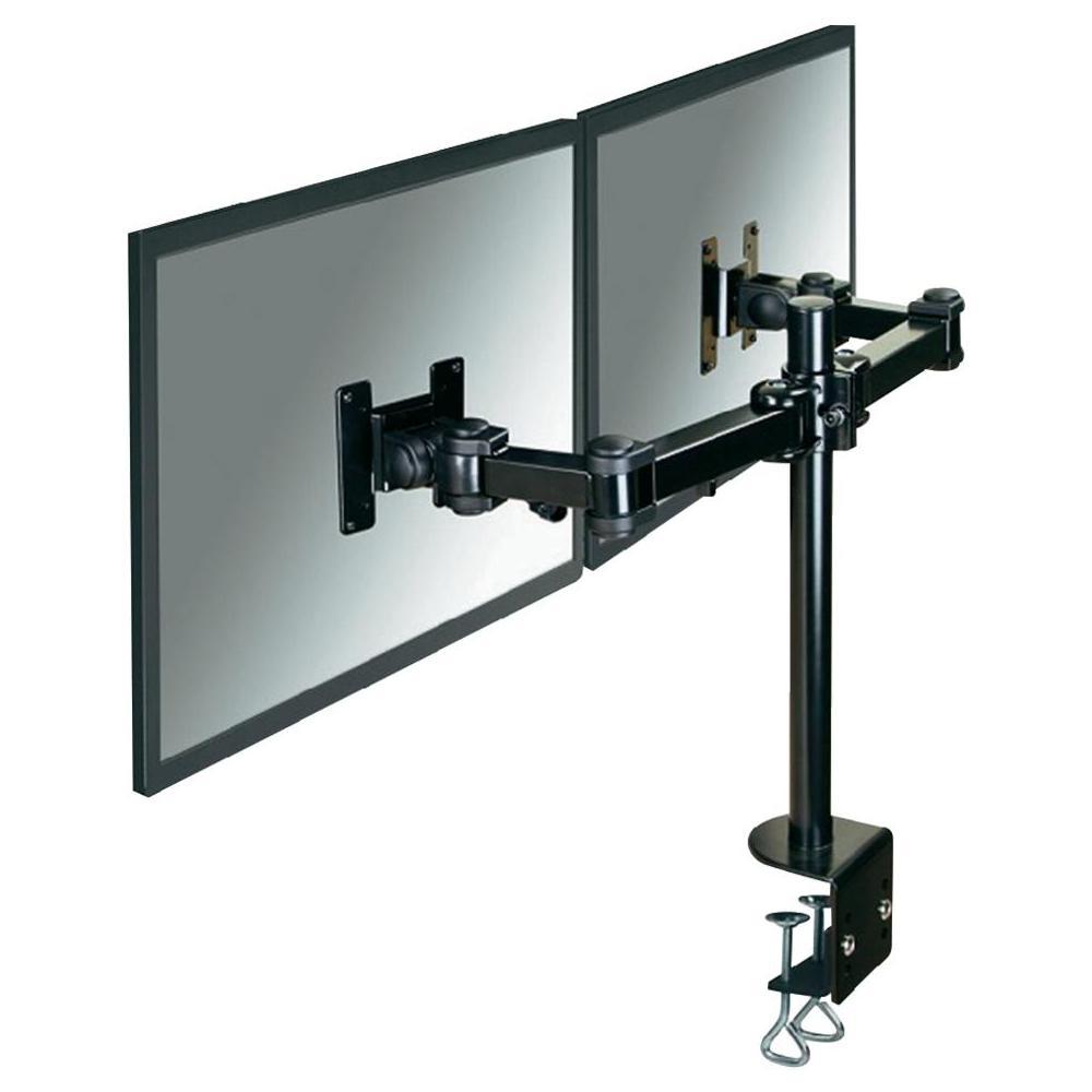 Stolní držák na 2 monitory, 25,4 - 66 cm (10 - 26) newstar fpma…