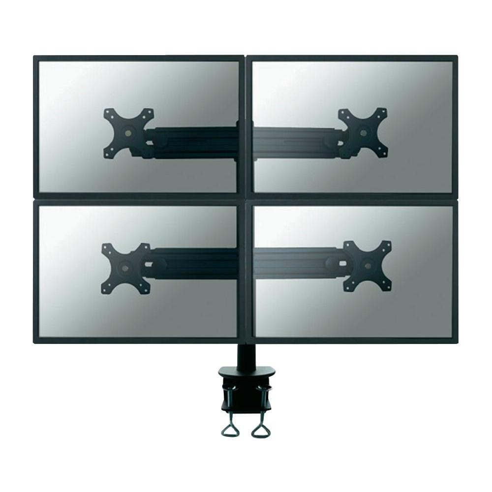 Stolní držák na 4 monitory, 48 - 69 cm (19 - 27) newstar fpma…