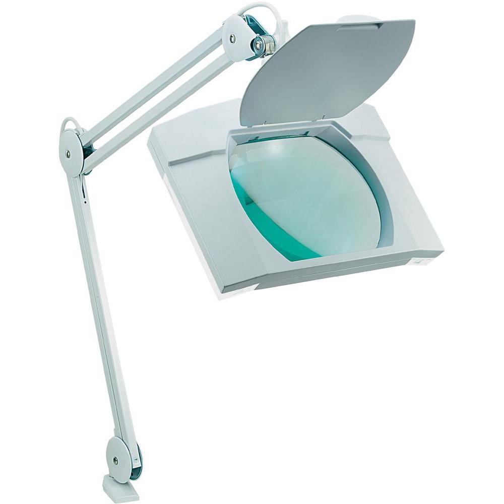 Stolní lupa s osvětlením toolcraft 3d, 2x9 w