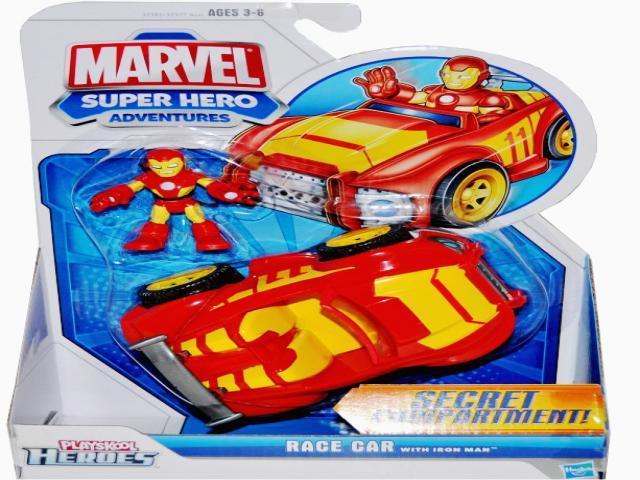 Super heroes interaktivní hrací sada s vozidlem a figurkou