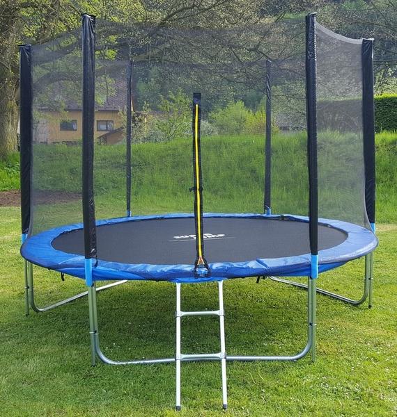 Superjump trampolína 180 cm + ochranná síť + žebřík