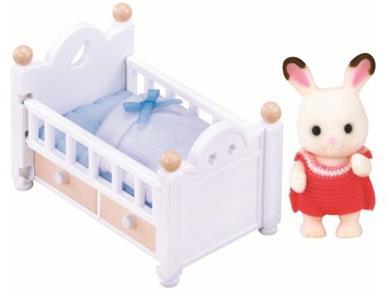 Sylvanian families - baby králík v postýlce