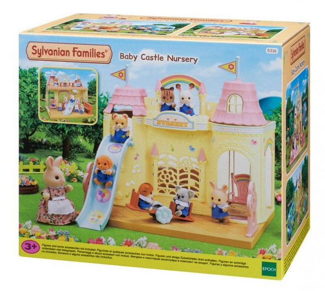 Sylvanian families - dětská hradní školka