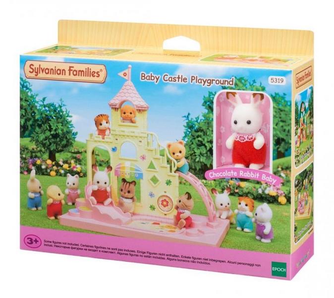 Sylvanian families - dětské hradní hřiště