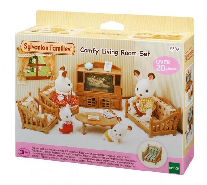 Sylvanian families - obývací pokoj