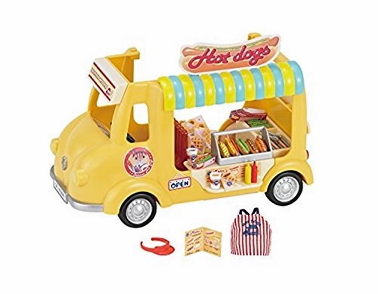 Sylvanian families - pojízdný obchod s hot dogy