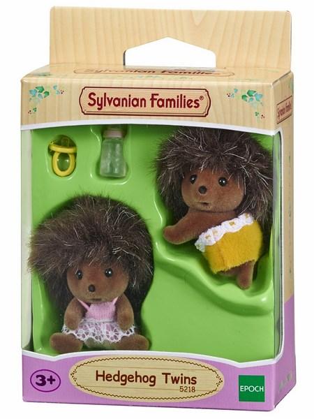 Sylvanian families - rodina dvojčata ježci