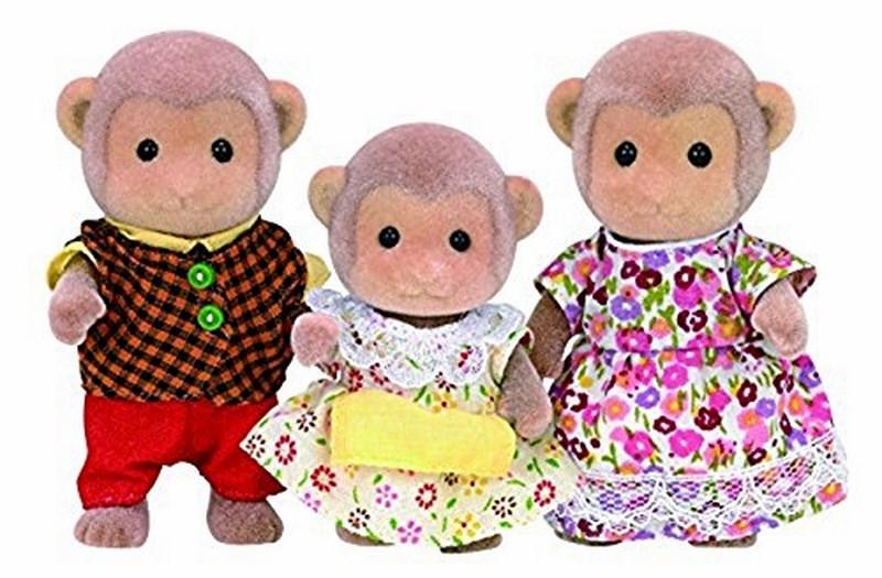Sylvanian families - rodina opičky