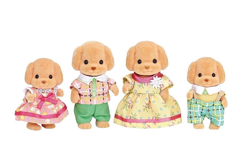 Sylvanian families - rodina pudlů