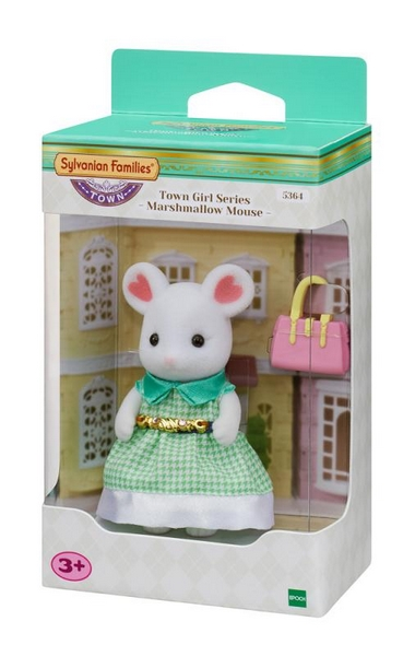 Sylvanian families - slečna marshmallow myška