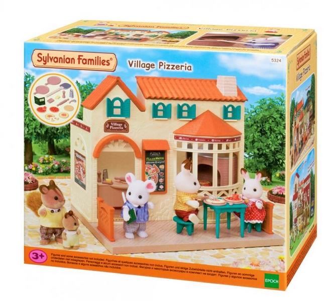 Sylvanian families - vesnická pizzeria