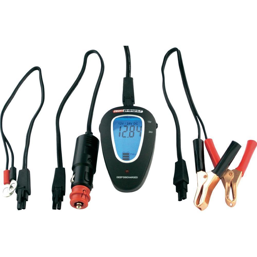 Tester autobaterie profi power 12/24 v