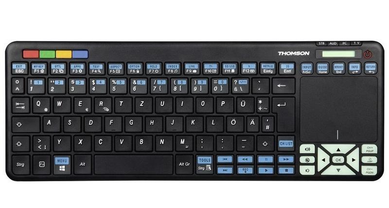 Thomson roc3506 bezdrátová klávesnice s tv ovladačem pro tv…
