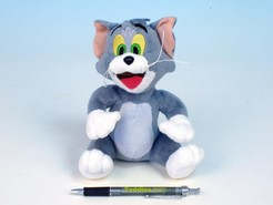 Tom plyš sedící 18cm Tom a Jerry