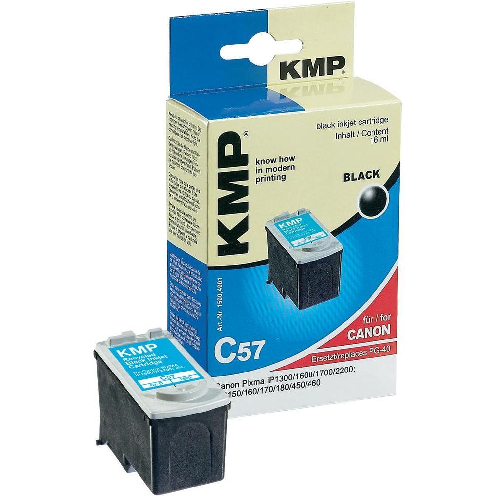 Toner inject kmp c57 = canon pg40 černá