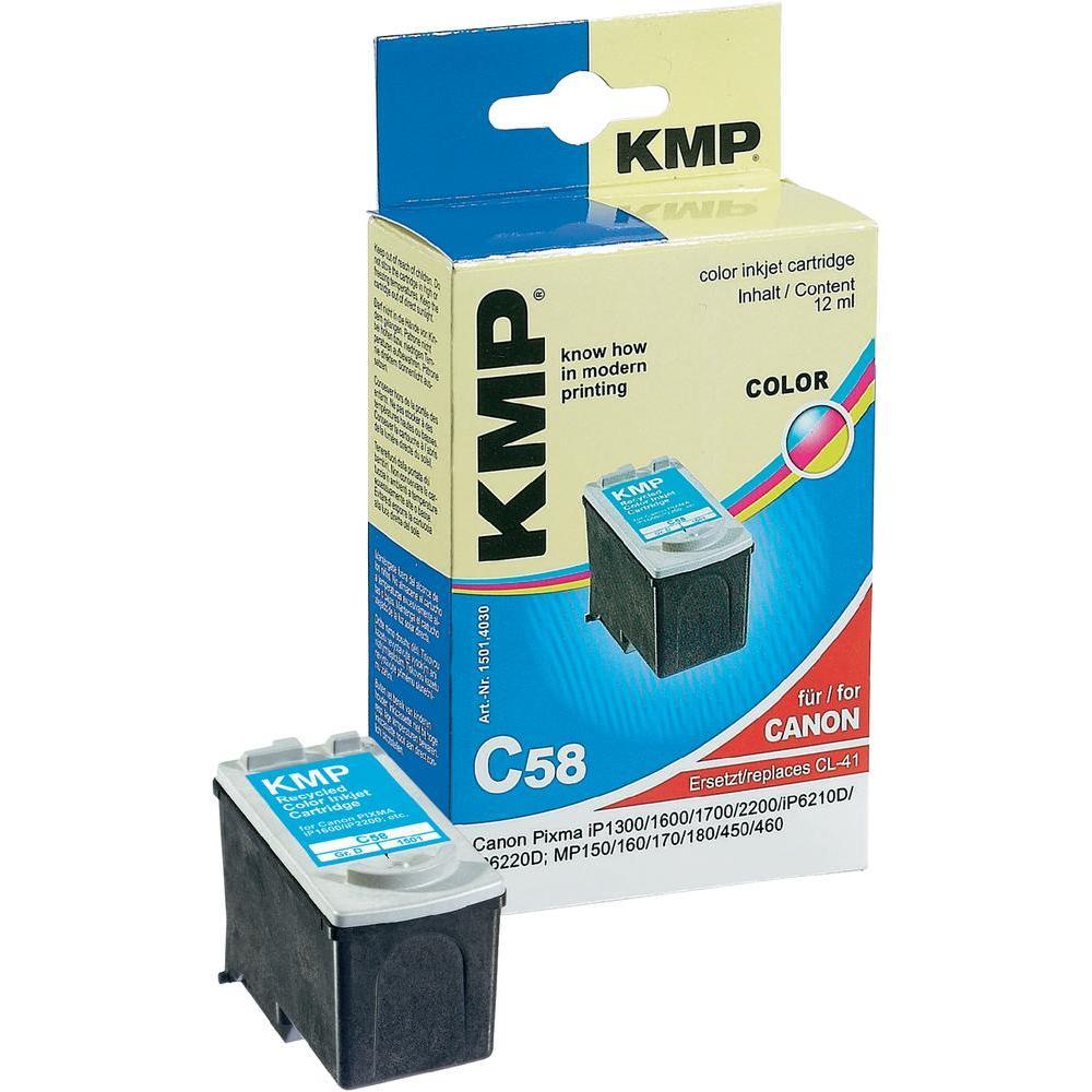 Toner inject kmp c58 = canon cl41 barevná