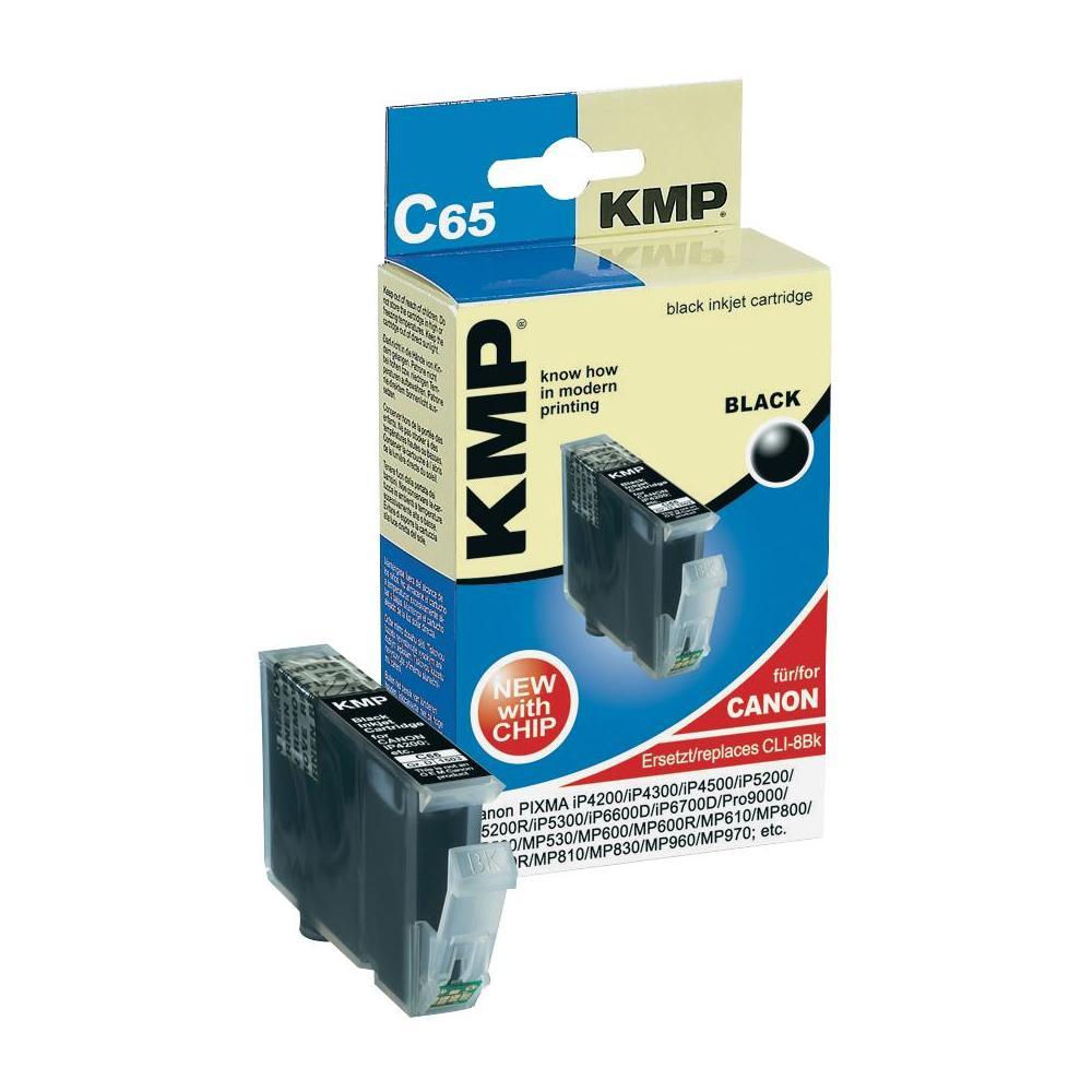 Toner inject kmp c65 = canon cli-8bk černá