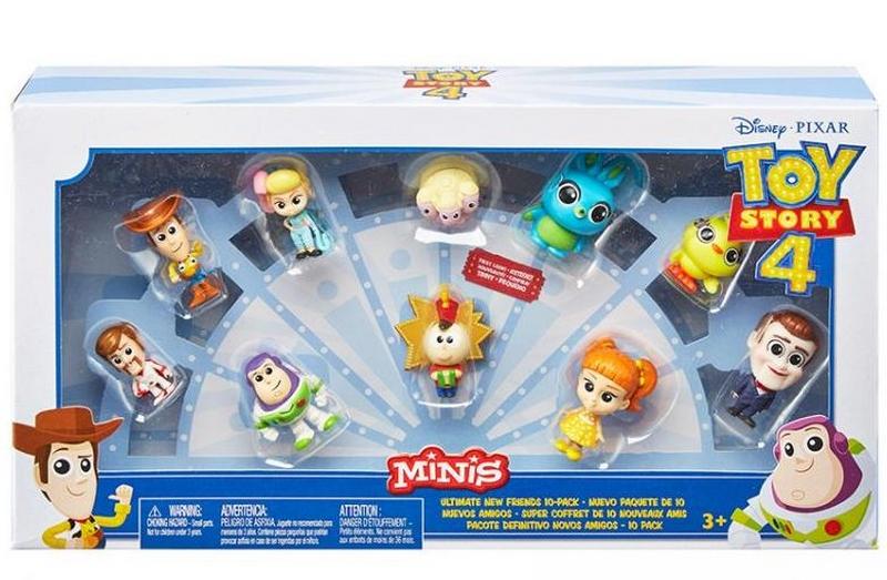 Toy story 4: příběh hraček 10ks minifigurka