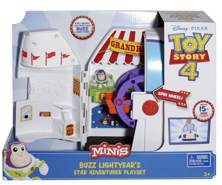 Toy story 4: příběh hraček minifigurka herní set