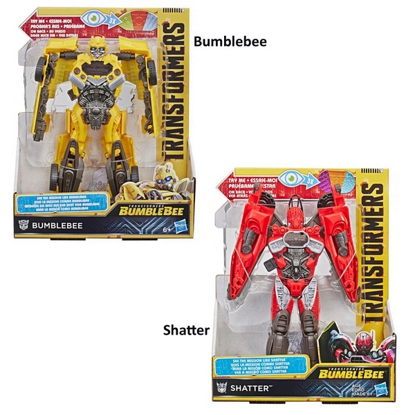 Transformers bumblebee mission vision figurka ast