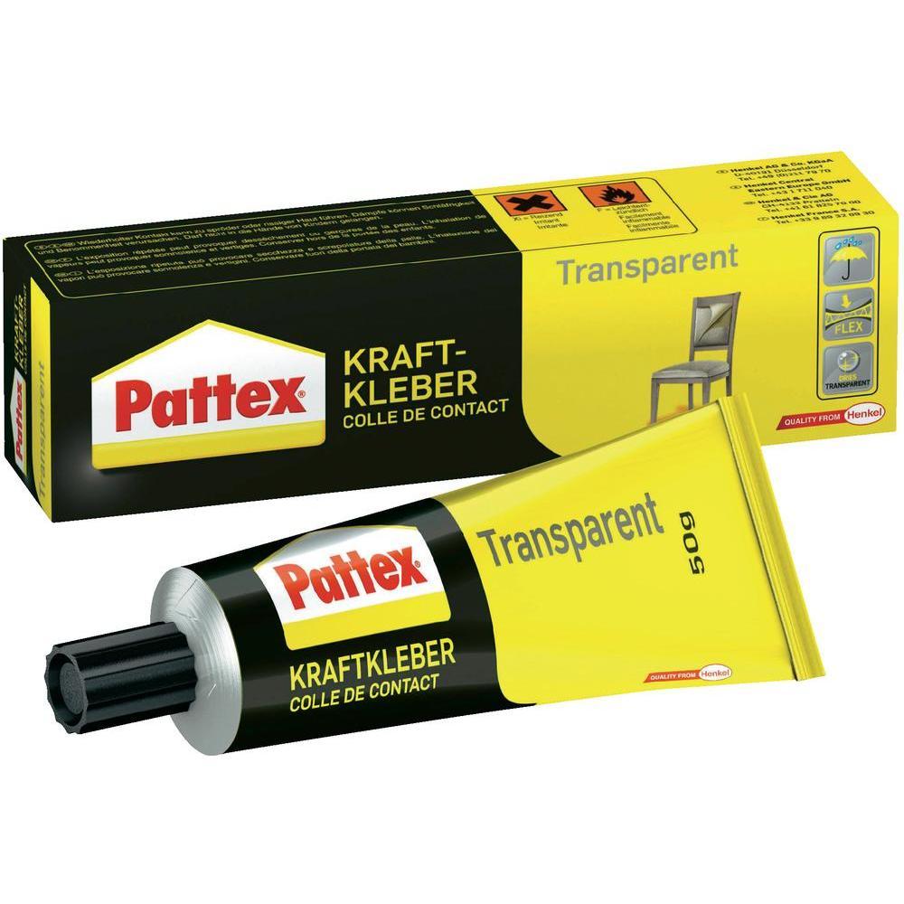 Transparentní lepidlo pattex , 50g