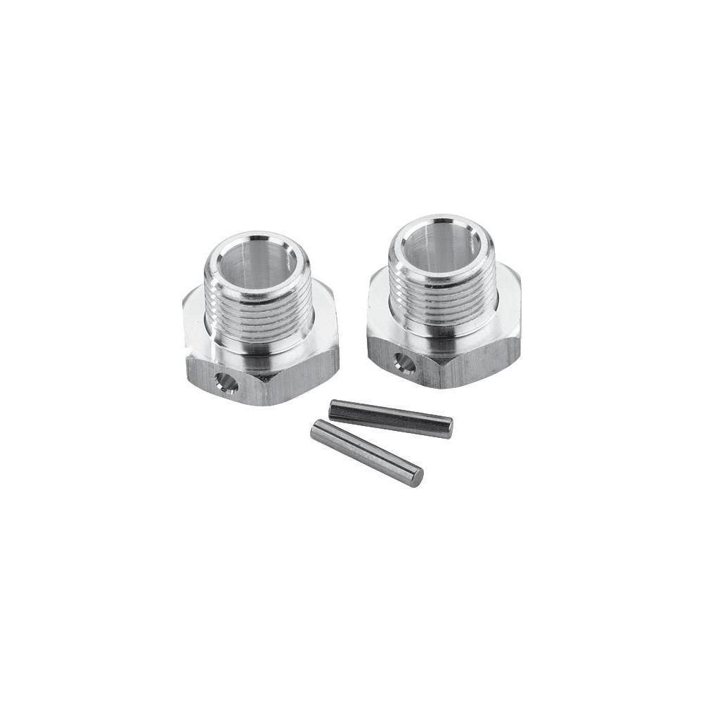 Unašeč kola 17 mm 6-hraný reely mv107, 1:8, hliník, 2 ks