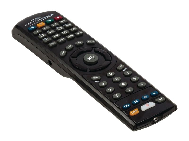 Univerzální dálkový ovladač pro televize 4 v 1, programovatelný…