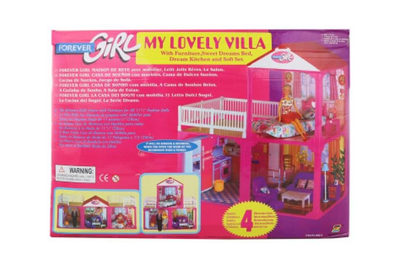 Velký domeček pro panenky