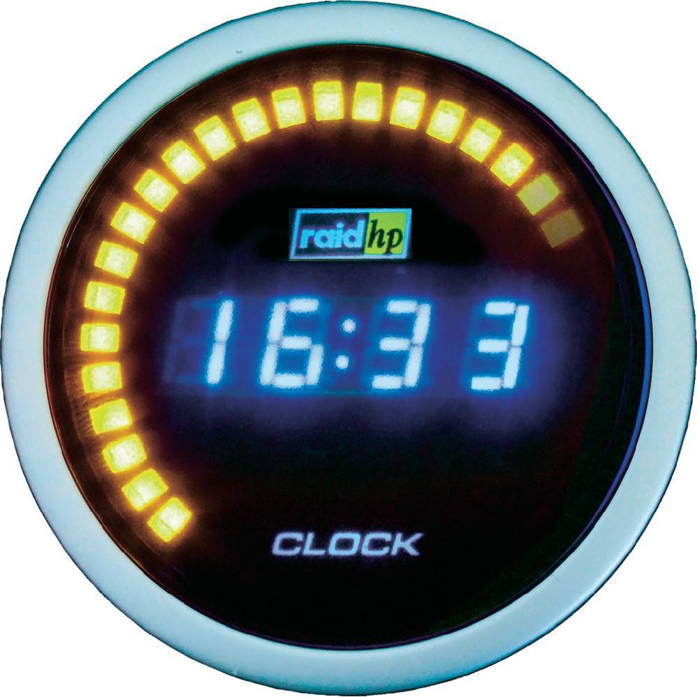 Vestavné digitální hodiny raidhp nightflight raid hp