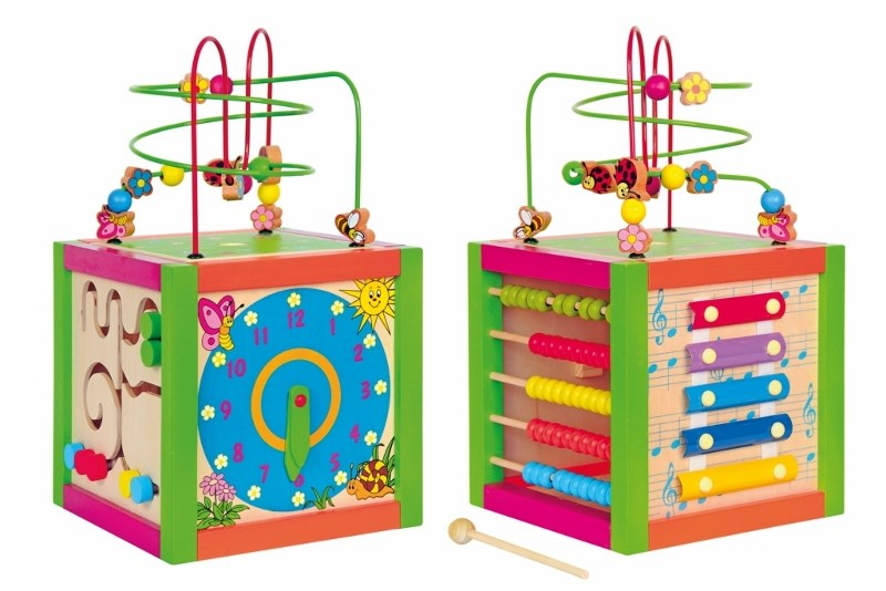 Woody didaktická kostka barevná 500-600