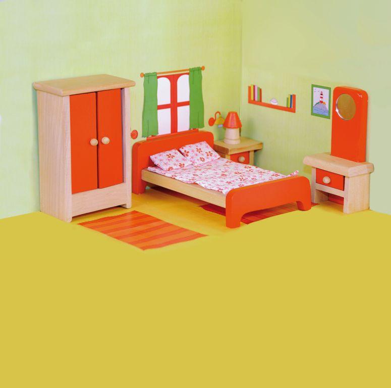 Woody nábytek do domečku - ložnice