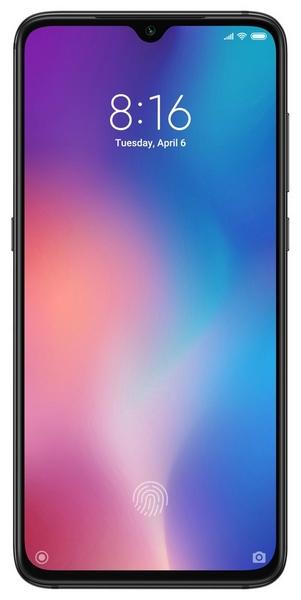 Xiaomi mi 9 64gb+6gb dualsim black