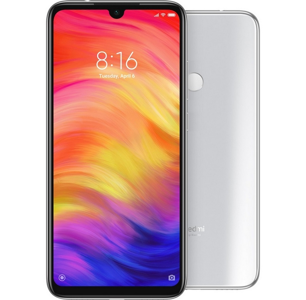 Xiaomi redmi note 7 128gb+4gb dualsim white