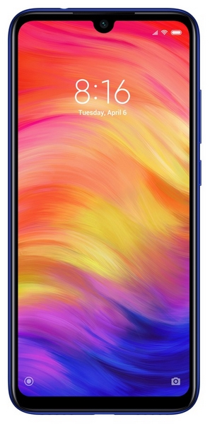Xiaomi redmi note 7 64gb+4gb dualsim blue