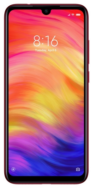 Xiaomi redmi note 7 64gb+4gb dualsim red